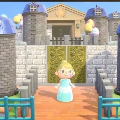 お城の壁 あつ森