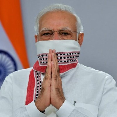 Narendra Modi (@narendramodi) Twitter profile photo
