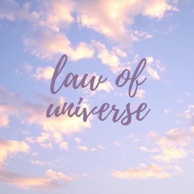 law of universe