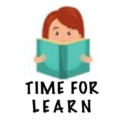 Time For Learn   📚   📔   📕