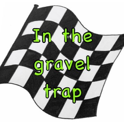 In the gravel trap