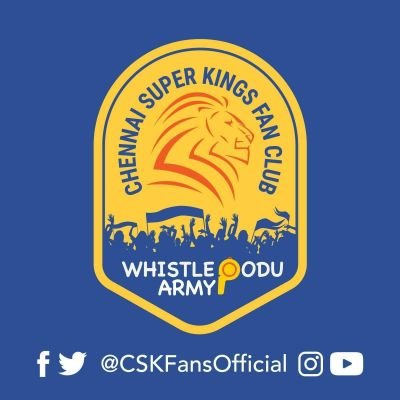 Whistle Podu Army ® - CSK Fan Club