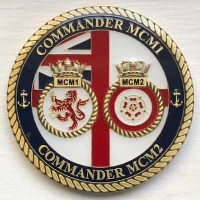 Cdr of the UKs Mine Counter Measure Squadron