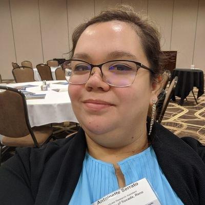 Antoinette Serrato (@spaceandweather) Twitter profile photo