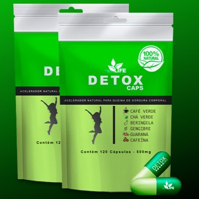 detox cápsulas bula