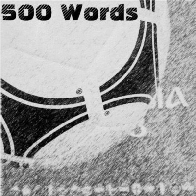 A Sticker's Worth 500 Words