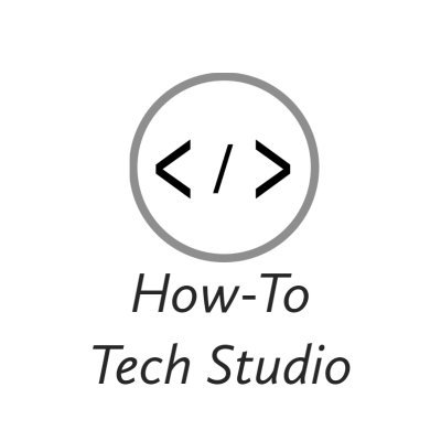 How-To Tech Studio