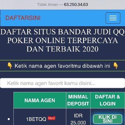 Bandar Judi Qq Poker Online Terpercaya Dandominoqq Twitter