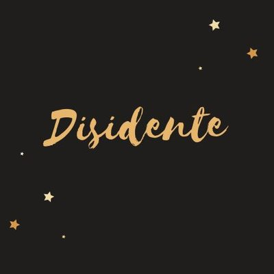 Disidencia (@Snd63255209) Twitter profile photo