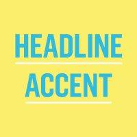 Headline Accent (@AccentPress )