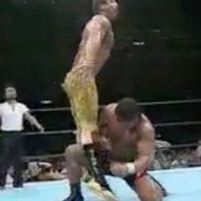 rick rude getting atomic drops