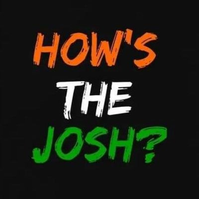 How Is The Josh🇮🇳 (@HowIsTheJosh2) | Twitter