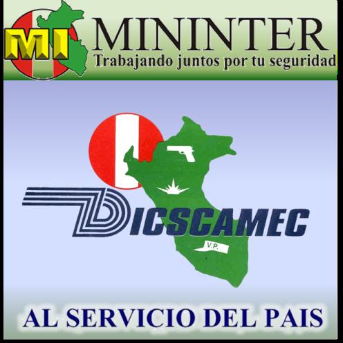 Dicscamec dicscamec twitter for Logo del ministerio del interior peru