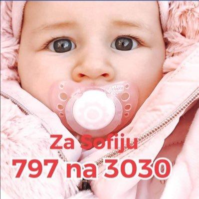 Za Sofijin prvi korak 797 na 3030