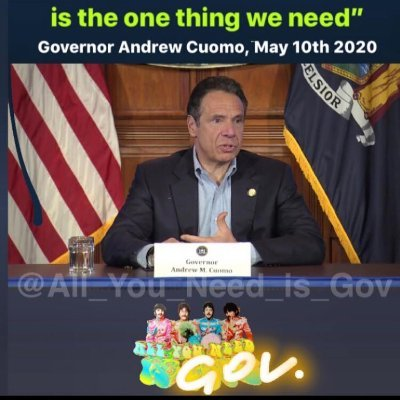 All You Need is Gov. - All The Cuomo's Babes