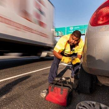 on-demand roadside help