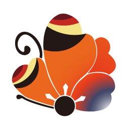 M Hamko1114 カワココさんのクルクルリボンの描き方と ウサコりんさんのサイトでも見ましたよ 螺旋のリボン 私も今年の年賀状に使いました