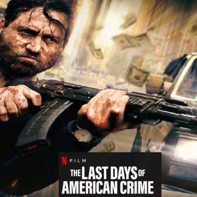 The Last Days Of American Crime 2020 Full Movie Thelastdaysamer Twitter