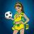 10006573 brazil soccer girl normal