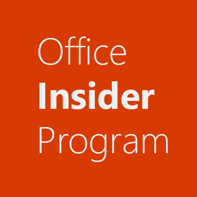 @OfficeInsider