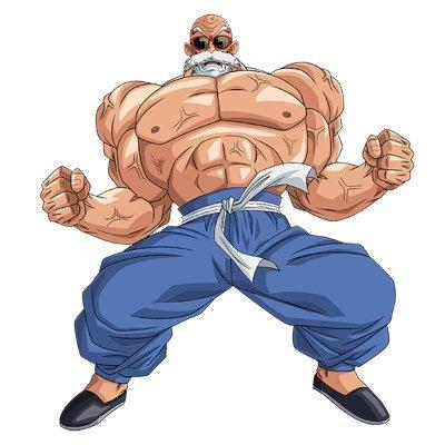 Master Roshi Swole Master Roshi Twitter