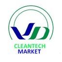 Logo clean tech market reasonably small