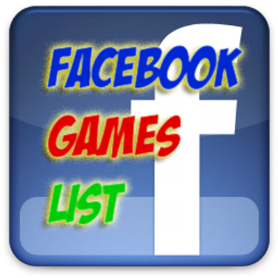 Games On Facebook List