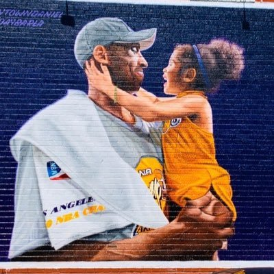 Kobe Bryant Lakers Murals