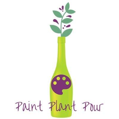 Paint Plant Pour