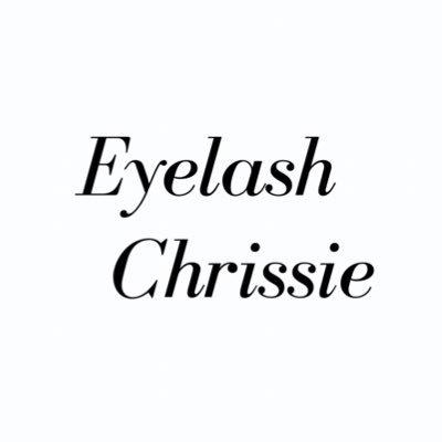 eyelash chrissie @eyelashchrissie