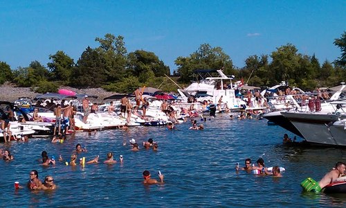 Image result for party cove lake lewisville photos