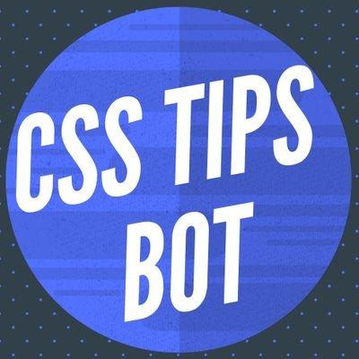 CSS Tips Bot