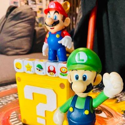 Mario & Luigi's Toys on Display