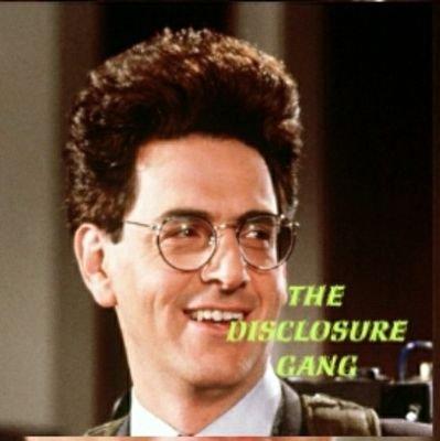 The Disclosure Gang: Member, I am Egon....advocating to end UFO/UAP secrecy
