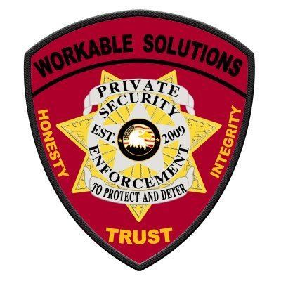 Workable Solutions (Security Officers/Training) (@workable_sol) Twitter profile photo