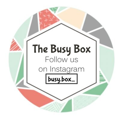 The Busy Box (@TheBusyBox_) Twitter profile photo