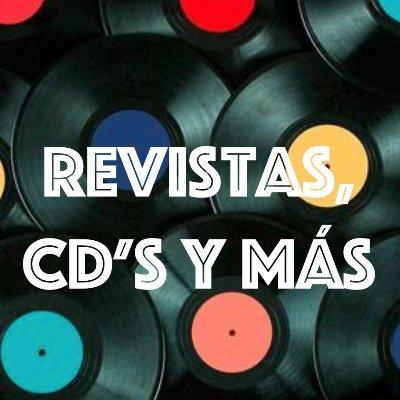 Revistas, CD's y más