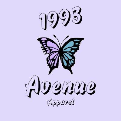 1993 Avenue Apparel (@1993Avenue) Twitter profile photo