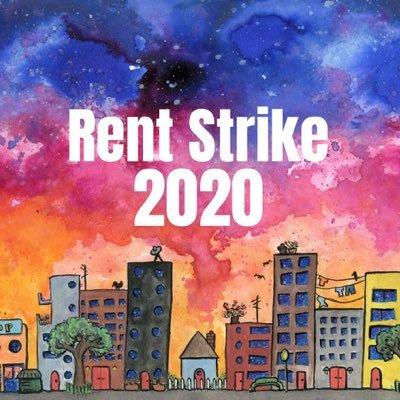 Rent Strike 2020 (@RentStrike2020) Twitter profile photo