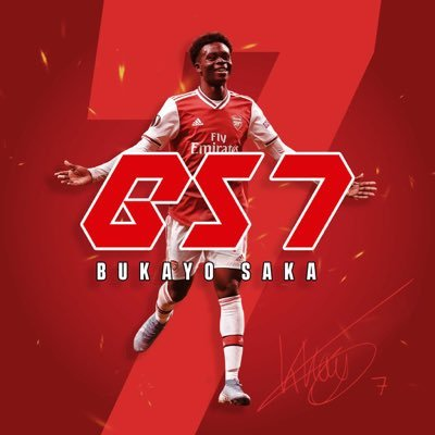 Bukayo Saka (@BukayoSaka87) Twitter profile photo