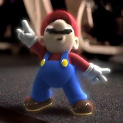 Mario Headbangs To