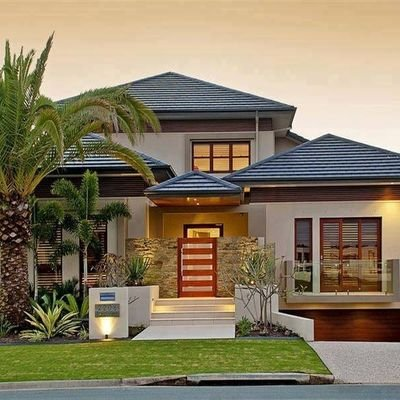House Designs Kenya On Twitter 4 Bedroom Bungalow With A Flat Roof