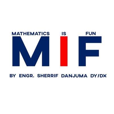 Maths is Fun (@sheriff_danjuma) Twitter profile photo