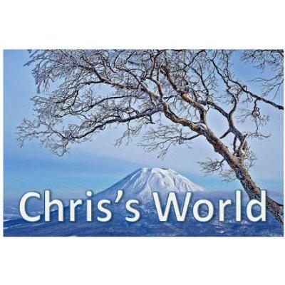 Chris's Interesting World! 🦇🚀🦁 I Follow Back!