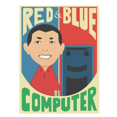 Red & Blue Computer