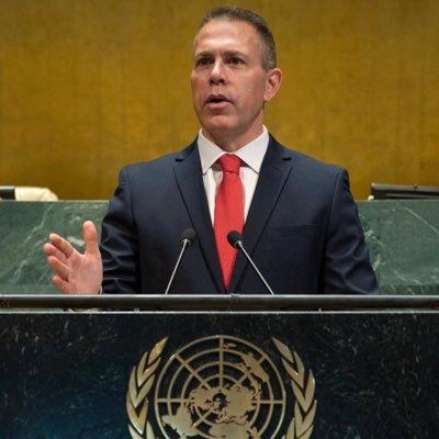 Ambassador Gilad Erdan גלעד ארדן