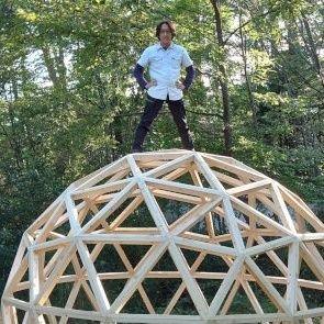 わだたかひろ★森で家建てる★ドーム建築家