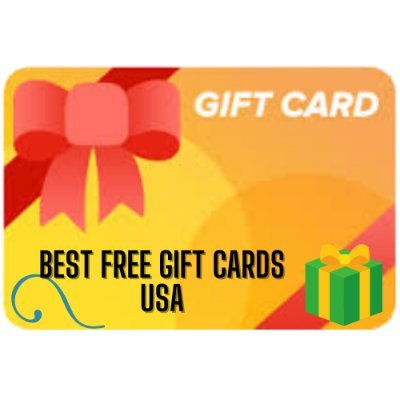 Best Free Gift Cards USA