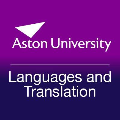 Aston Languages and Translation (@Aston_LangTrans) Twitter profile photo