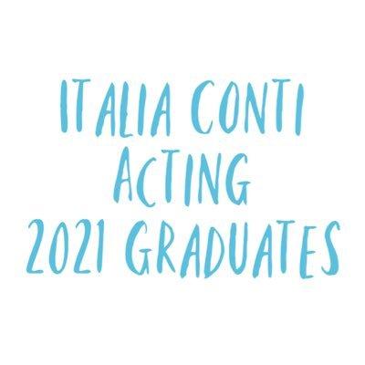 Italia Conti Graduates 2021 (@ContiGrads2021) Twitter profile photo